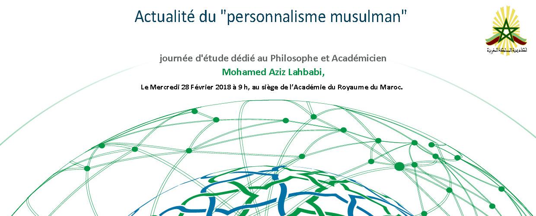 """Actualité du """"personnalisme musulman"""""""