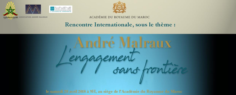 André Malraux L'engagement sans frontière